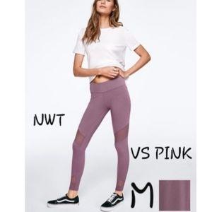 M NWT VS PINK BEST BUTT HIGH WAIST COTTON MESH LEG